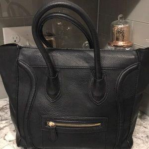 Celine look alike purse with strap.
